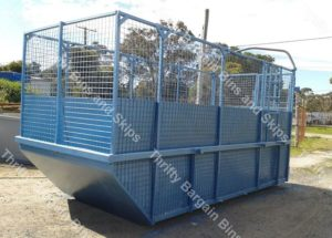 large 14 cubic metre skip bin for hire central coast